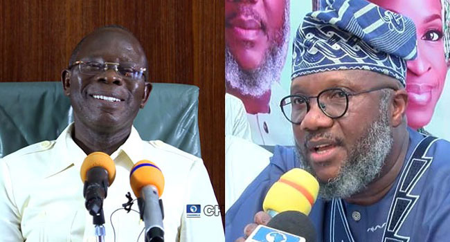 APC Is One Big Family, Oshiomhole Welcomes Akinlade, Others