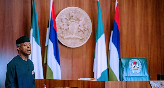 Osinbajo Presides Over Last NEC Meeting For 2019