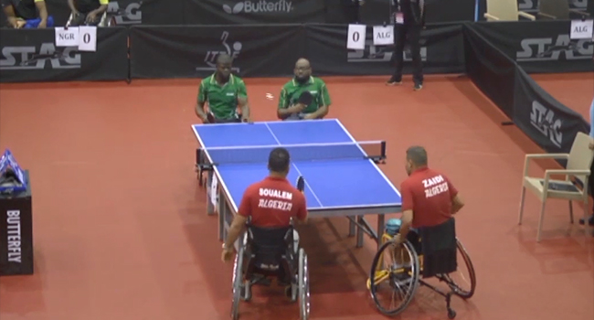 Para Table Tennis Open To Serve Off Tomorrow in Lagos