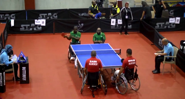 African Players Arrive For Para Table Tennis Open In Lagos