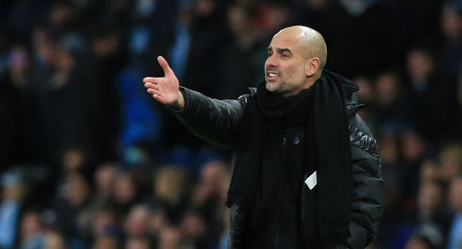 Man City Standards Have Slipped, Says Guardiola