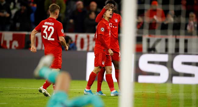 Coutinho Hits Hat-Trick As Bayern Rout Werder Bremen