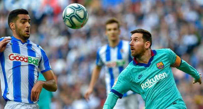 Real Sociedad Hold Barca To Draw Ahead Of El Clasico