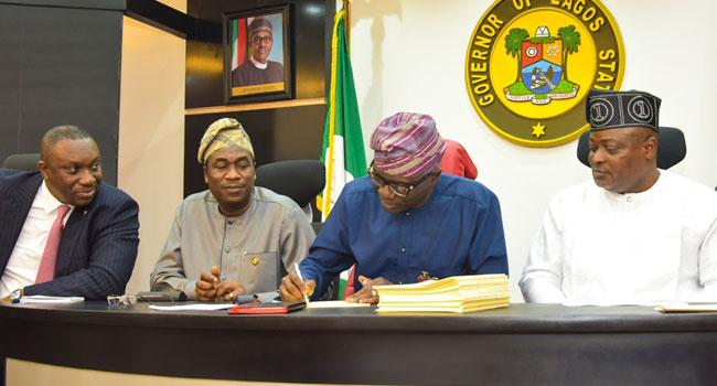 Sanwo-Olu Signs N1.168trn 2020 Lagos Budget