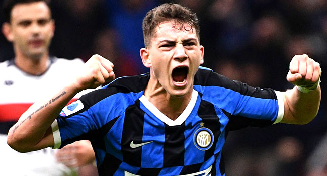 Teenager Esposito Breaks 60-Year Record As Inter Go Top