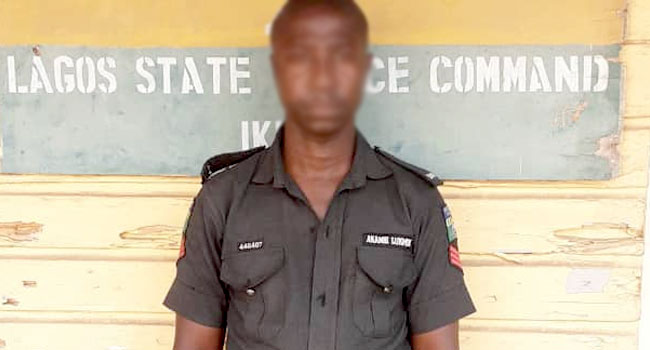 Police Sergeant Arrested Over Killing Of Man In Lagos