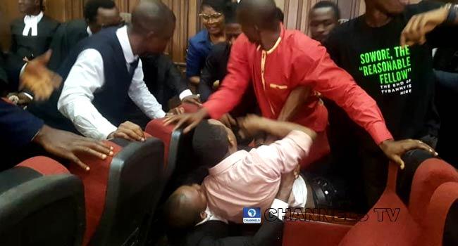 DSS Attempt To Re-Arrest Sowore Inside Courtroom