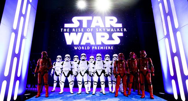 'Star Wars: Rise Of Skywalker' Premieres