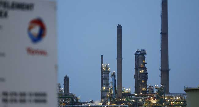 Fire Guts Total Refinery In France