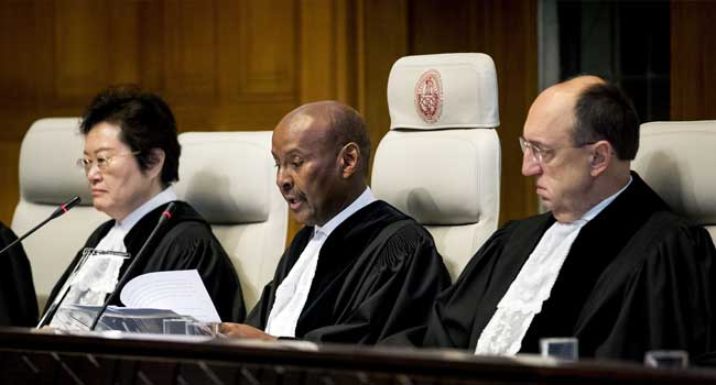 Myanmar Must 'Stop This Genocide' Of Rohingyas, Gambia Tells Court