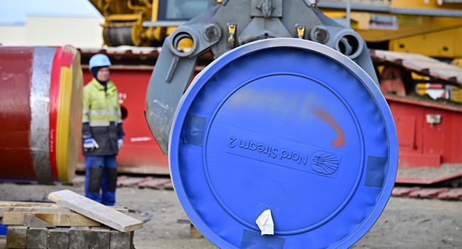 Russia Vows To Finish Gas Pipeline Despite US Sanctions