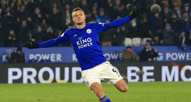 Vardy Stars As Leicester Beat Watford