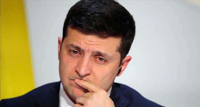 Ukrainians Rate President Zelensky High Despite Trump, Downed Jet Issues
