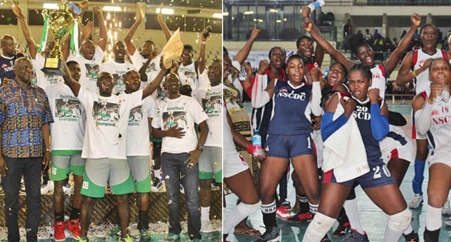 Customs, NSCDC Emerge National Volleyball Premier League Champions