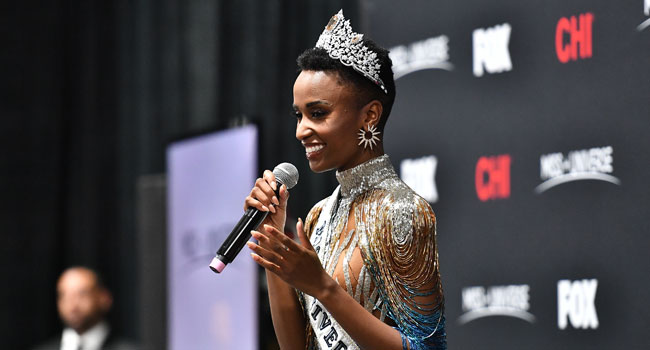 South Africa's Tunzi Emerges 2019 Miss Universe