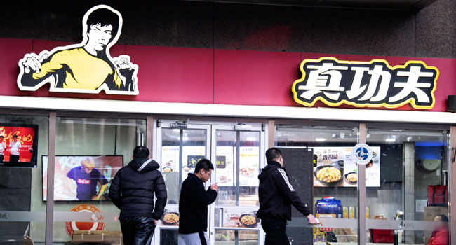 Bruce Lee's daughter sues restaurant chain