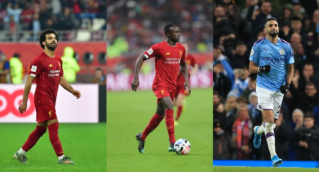 Salah, Mane And Mahrez Battle For African Player Of Year Award