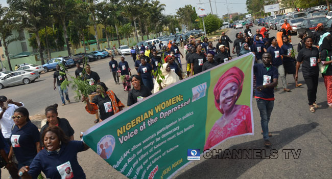 Women Protest In Kogi, Demand Justice For Murdered PDP Leader