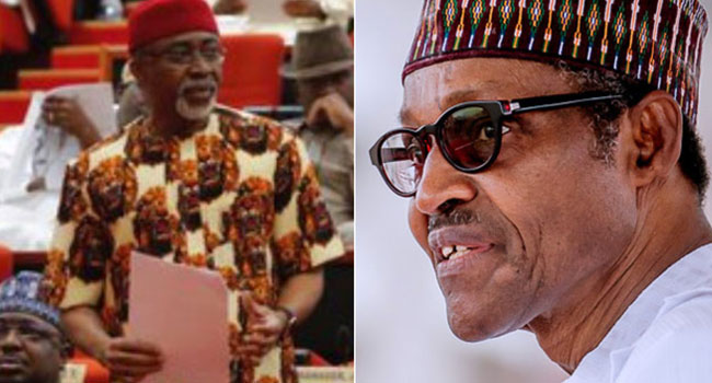 Senator Abaribe's Call On President Buhari To Resign Is Foolish – Garba Shehu