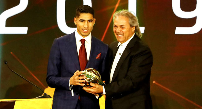Morocco's Hakimi Beats Osimhen, Chukwueze To Win African Youth Player Of The Year