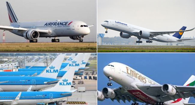 Air France, KLM And Lufthansa Halt Flying Through Iran, Iraq Airspaces
