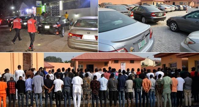 EFCC Arrests 89 Alleged Internet Fraudsters In Ibadan Night Club