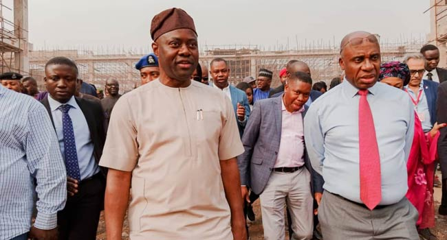 Amaechi, Makinde Inspect Lagos-Ibadan Rail Line