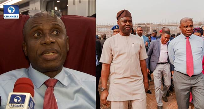 Why Lagos-Ibadan Rail May Not Be Completed By April – Amaechi