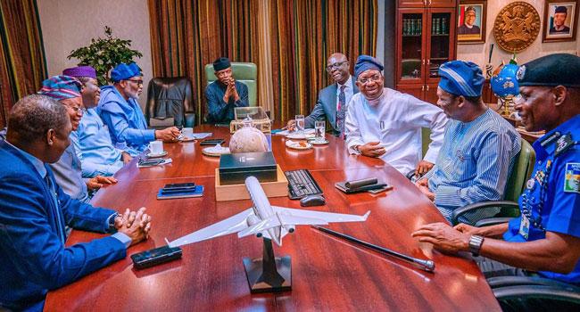 FG, South-West Governors Agree On Amotekun – Presidency