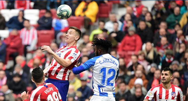 Atletico, Leganes Draw In Dramatic La Liga Fixture