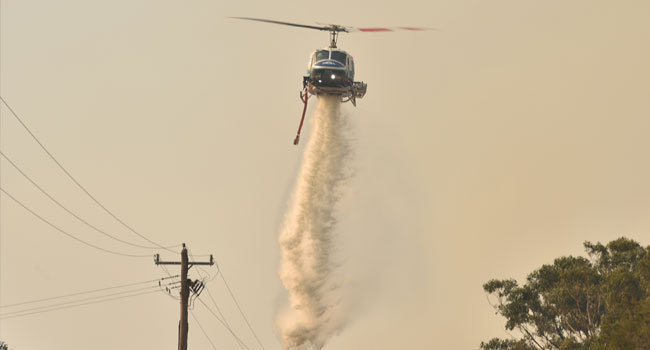 Power Supply Fears As Troops Called To Battle Australia Bushfires