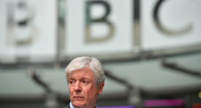 BBC Boss Tony Hall To Step Down In Six Months