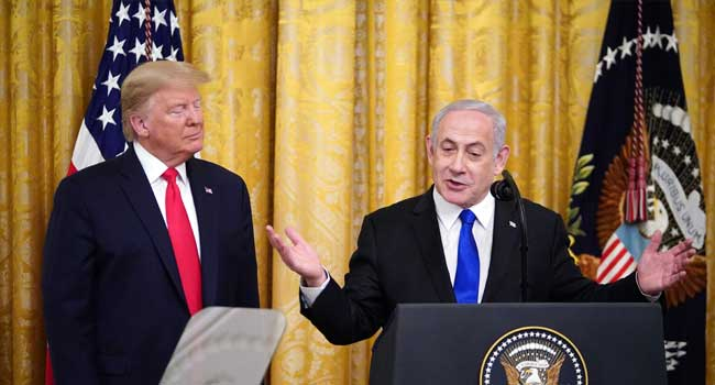 Netanyahu Hails Trump's Plan As 'Historic Day' For Israel