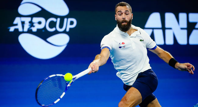 France Crash Out Of ATP Cup