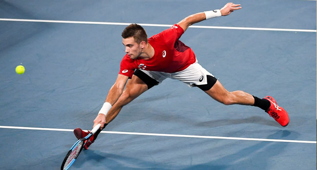 ATP Cup: Thiem Slumps As Croatia Upset Austria