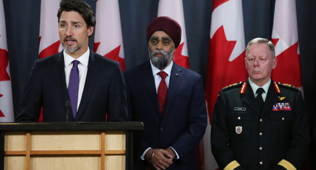 Iranian Missile Brought Down Airliner, Says Canadian PM