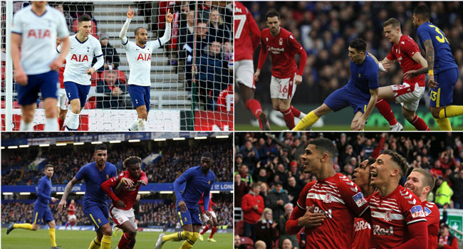 Lucas Rescues Spurs, Chelsea In FA Cup Stroll