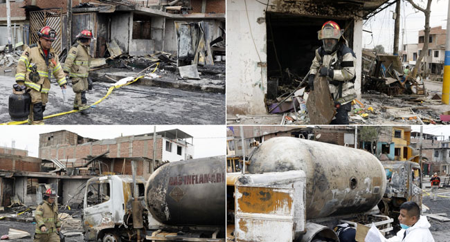Two Killed, More Than 30 Wounded In Lima Gas Tanker Blast