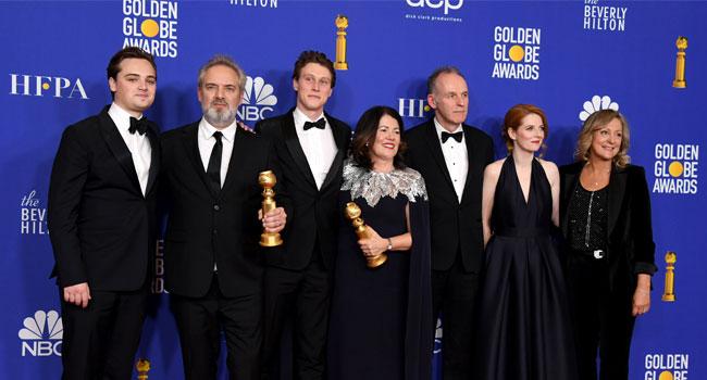War Film '1917' Stuns Golden Globes, Tarantino Bags Most Prizes