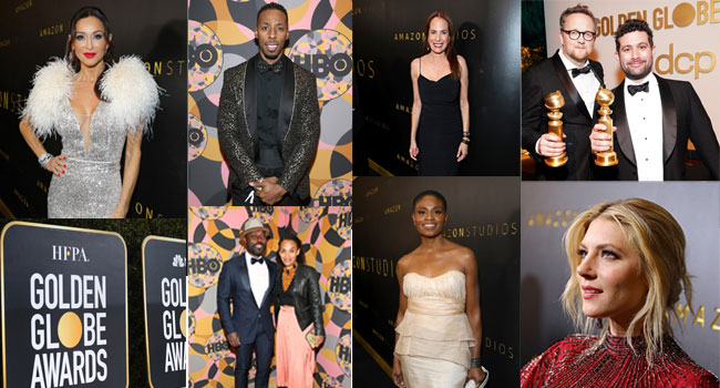 Hollywood Stars Shine On Globes Red Carpet