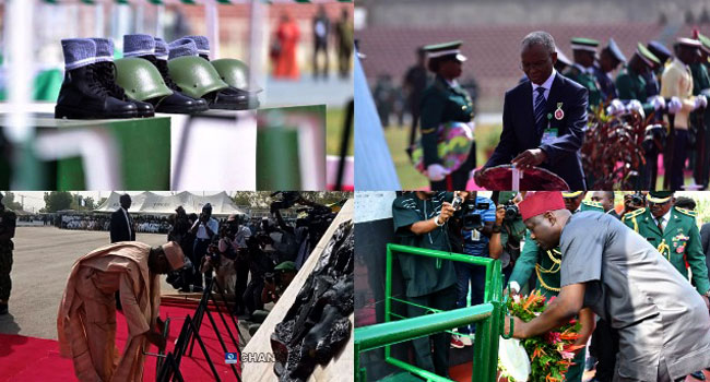 PHOTOS: State Governors Honour Fallen Heroes On Armed Forces Remembrance Day