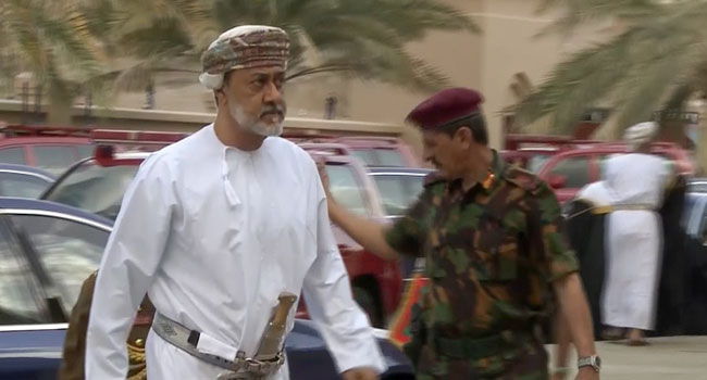 Oman Govt Swears-in Cousin Of Late Sultan As Royal Ruler