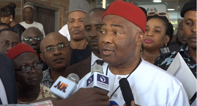 Those Calling For Oshiomhole's Removal Will Fail – Uzodinma