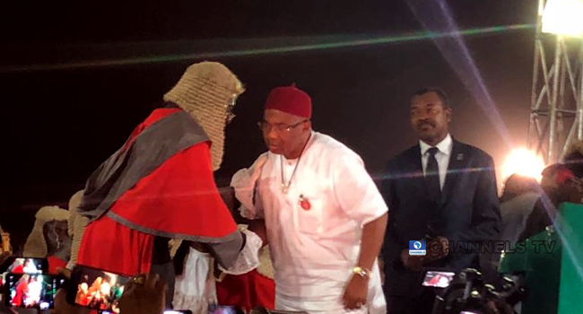 Hope Uzodinma Sworn In As Imo State Governor