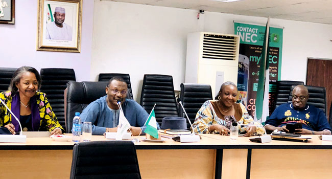 PHOTOS: INEC Closes Situation Room After Monitoring Rerun Elections