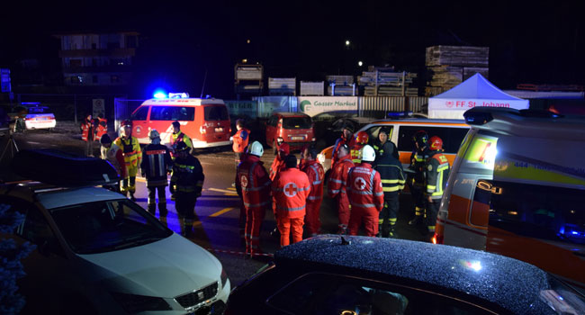Six German Killed, 11 Injured As Car Rams Into Pedestrian In Italy