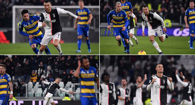 Ronaldo Brace Pulls Juventus Clear As Inter Stalled In Lecce