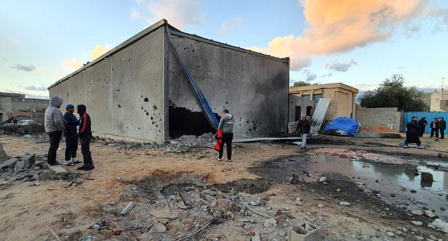 Air Raid Kills Three In Libya