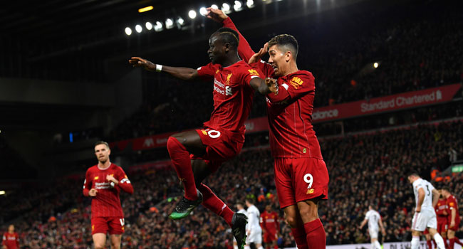 Mane Strikes As Liverpool Beat Norwich To Seal 25-Point Lead