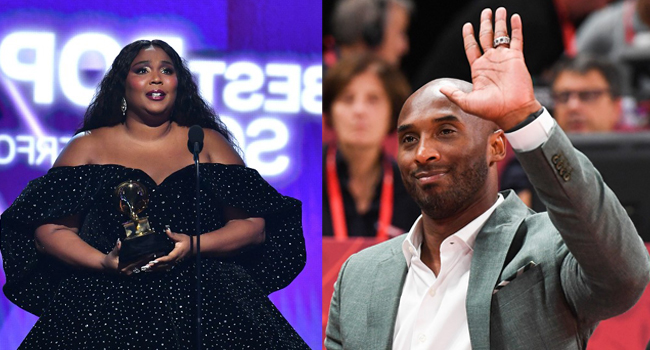 'Tonight Is For Kobe': Lizzo Dedicates Grammys To Late NBA Legend